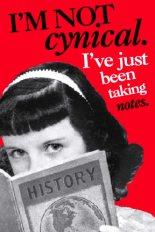 I'm not cynical