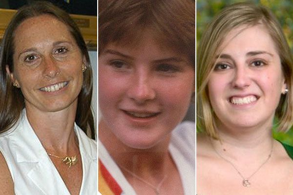 Dawn Hocksprung, 47, (left), Anne Marie Murphy, 52, (center) and Lauren Rousseau, 30, (right) who are among the victims of the Sandy Hook Elementary School shooting.