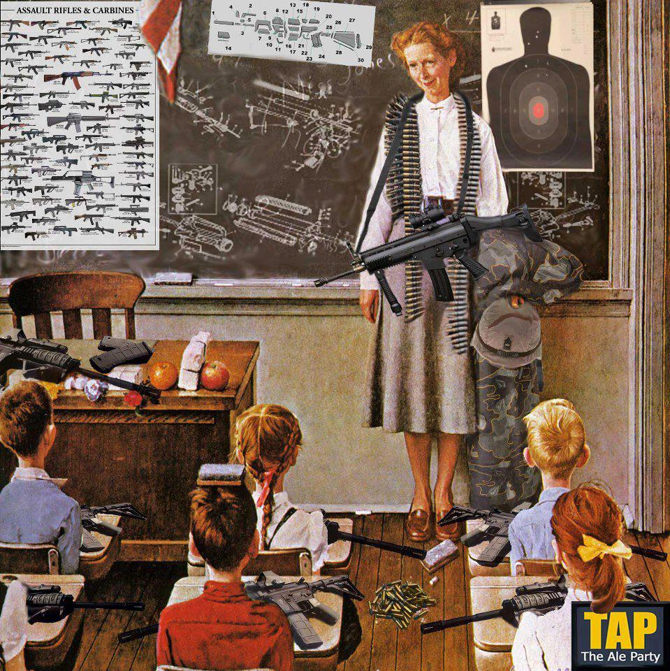teachers and guns in schools Why this utah teacher says she supports arming teachers with guns in schools by clayton sandell close follow on twitter more from clayton alexa valiente close adding more guns to schools may create an illusion of safety.