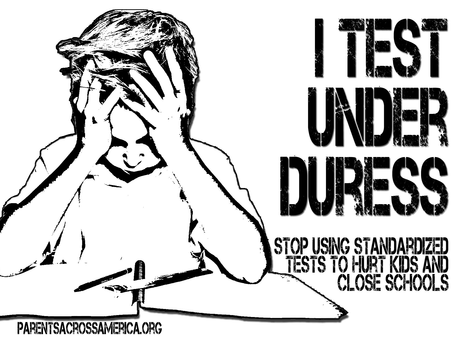 essay on why standardized testing is bad Cause & effect essay: standartized tests  governments like standardized tests administering them is an easy way to collect data in a way that is hard to judge and.