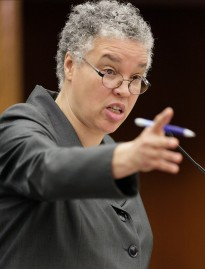 "Cook County board president Toni Preckwinkle: Chicago's school closings plan is a ""terrible idea."""