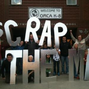 Teachers at Orca K8 in Seattle who boycotted the MAP test.
