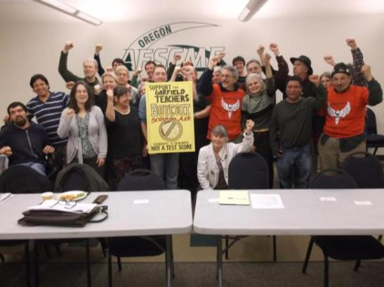 From the Portland chapter of Jobs for Justice