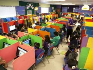 The Learning Lab at Rocketship Si Se Puede Academy in California.