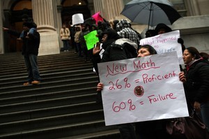 Parents Rally To Save City Charter School