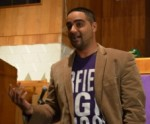Jesse Hagopian speaking in Chicago