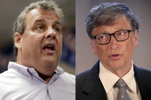 Chris Christie and Bill Gates