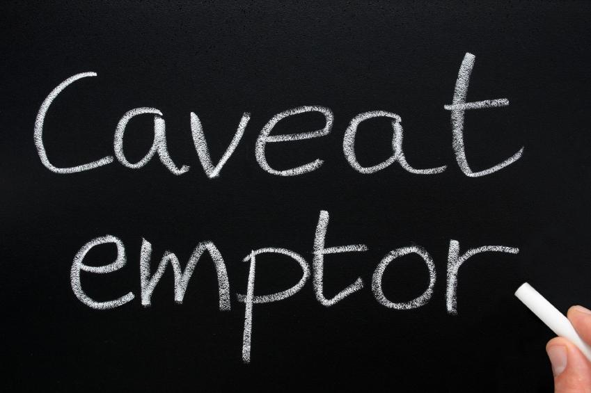 Doctrine of Caveat Emptor