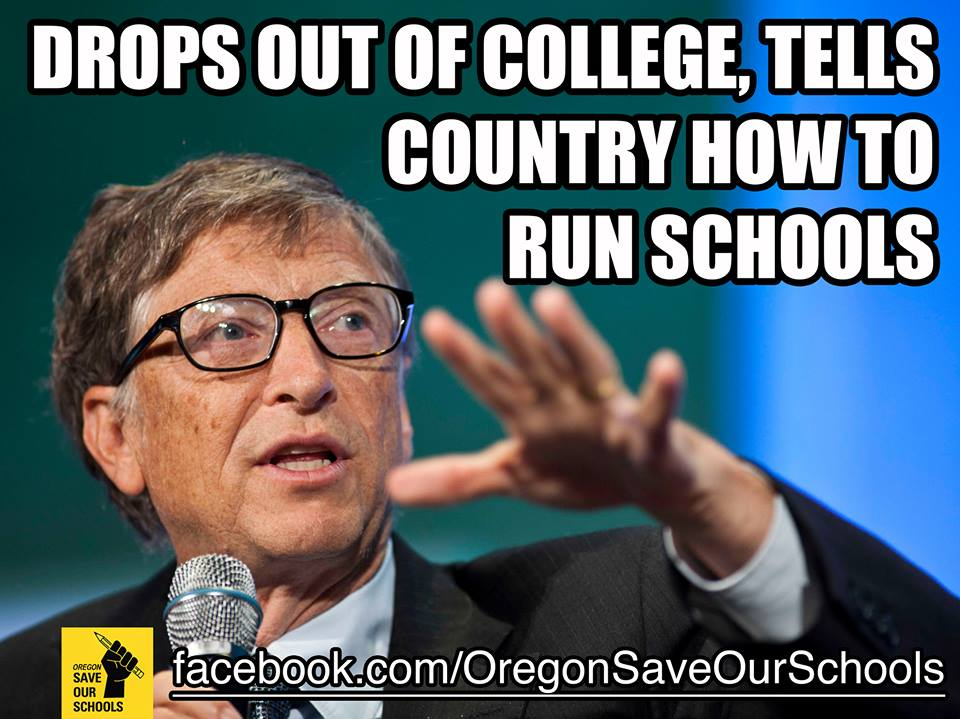 Bill Gates funds the media, including the Seattle Times