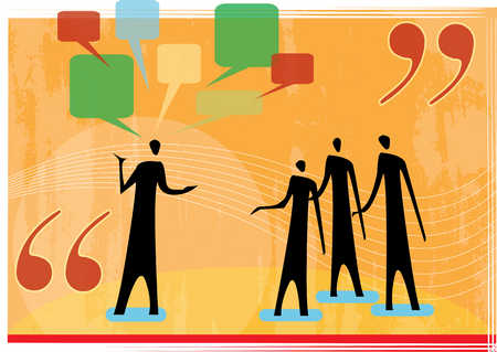people talking2