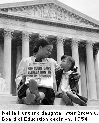 Mother and Daughter at U.S. Supreme Court