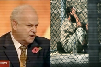 "Psychologist Marty Seligman ""whose work formed the psychological underpinnings of the Bush administration's torture program""."