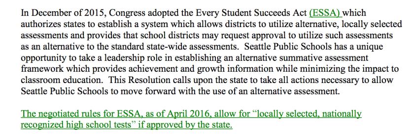 School Board Resolution