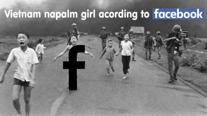 Facebook Napalm Girl