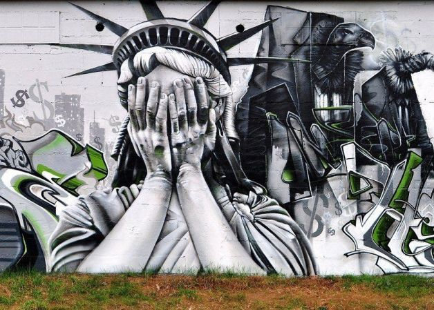 Statue of Liberty in Disgust