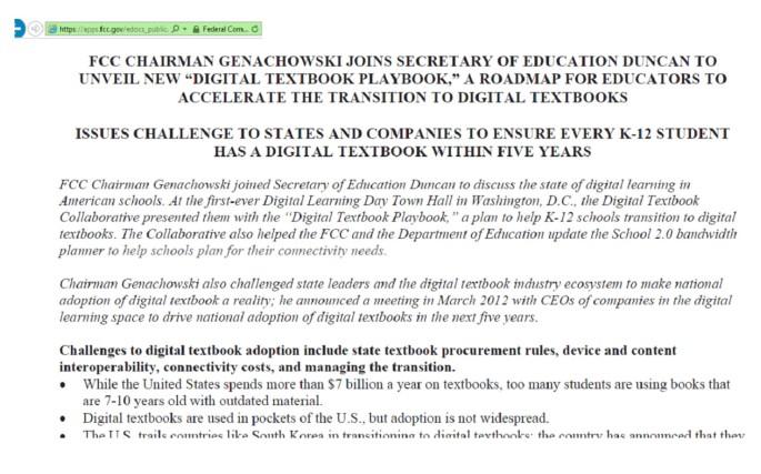Digital Text Books