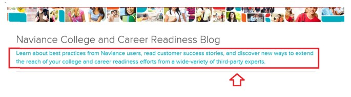 Naviance and College & Career Readiness