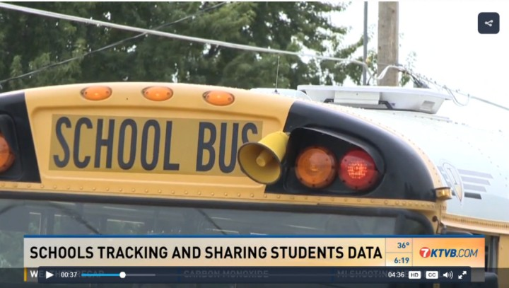 Schools tracking and sharing data
