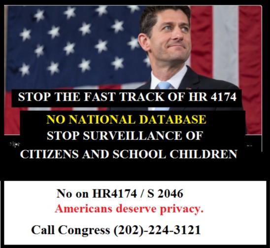 No on National Data Base