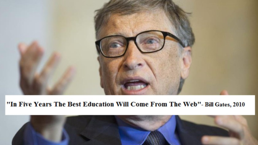 Gates: In 5 Years