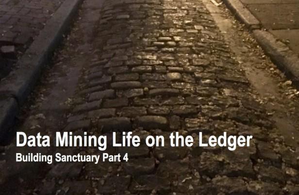 Data Mining Life on the Ledger