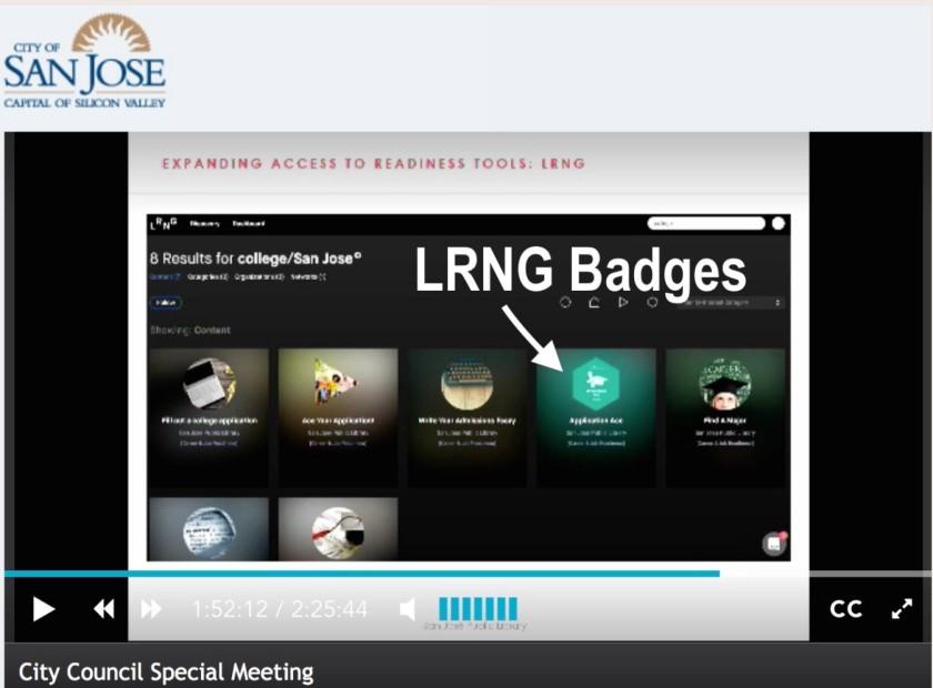 San Jose LRNG Badges