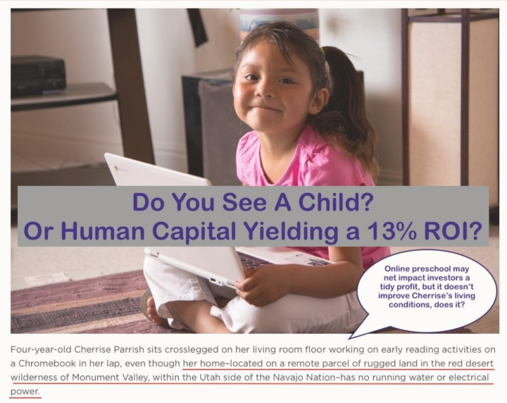 Do You See A Child or Human Capital?