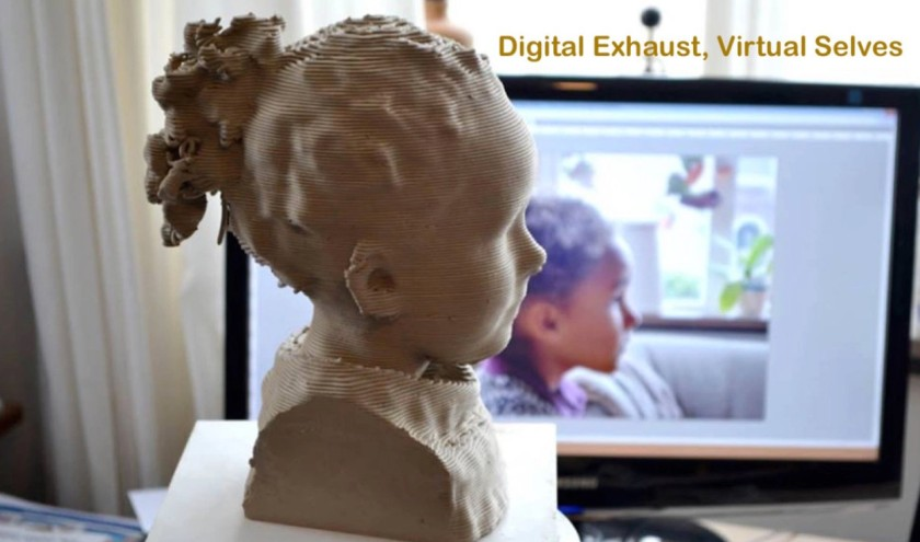 Digital exhaust, virtual selves